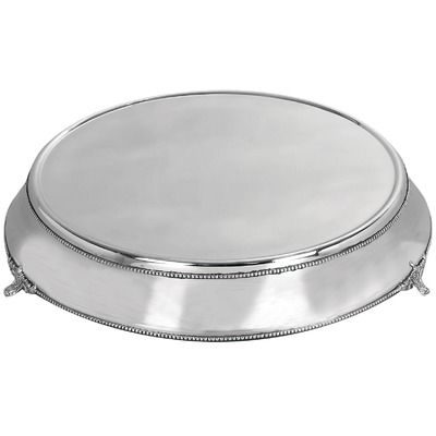 Aspire 19 Stainless Steel Cake Plate 114 99 Cake Plates Cake Plates Stand Plates