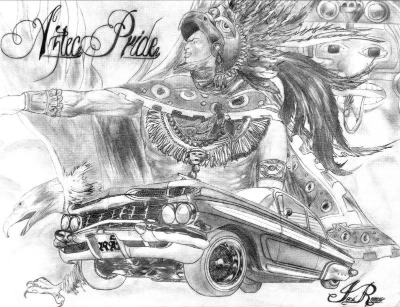 Lowrider Arte Photo By Snoop333 2006 Photobucket Lowrider Arte 2014 Hd Graffiti Tattoo Pictures Jpg 800 615 Lowrider Art Lowriders Aztec Art