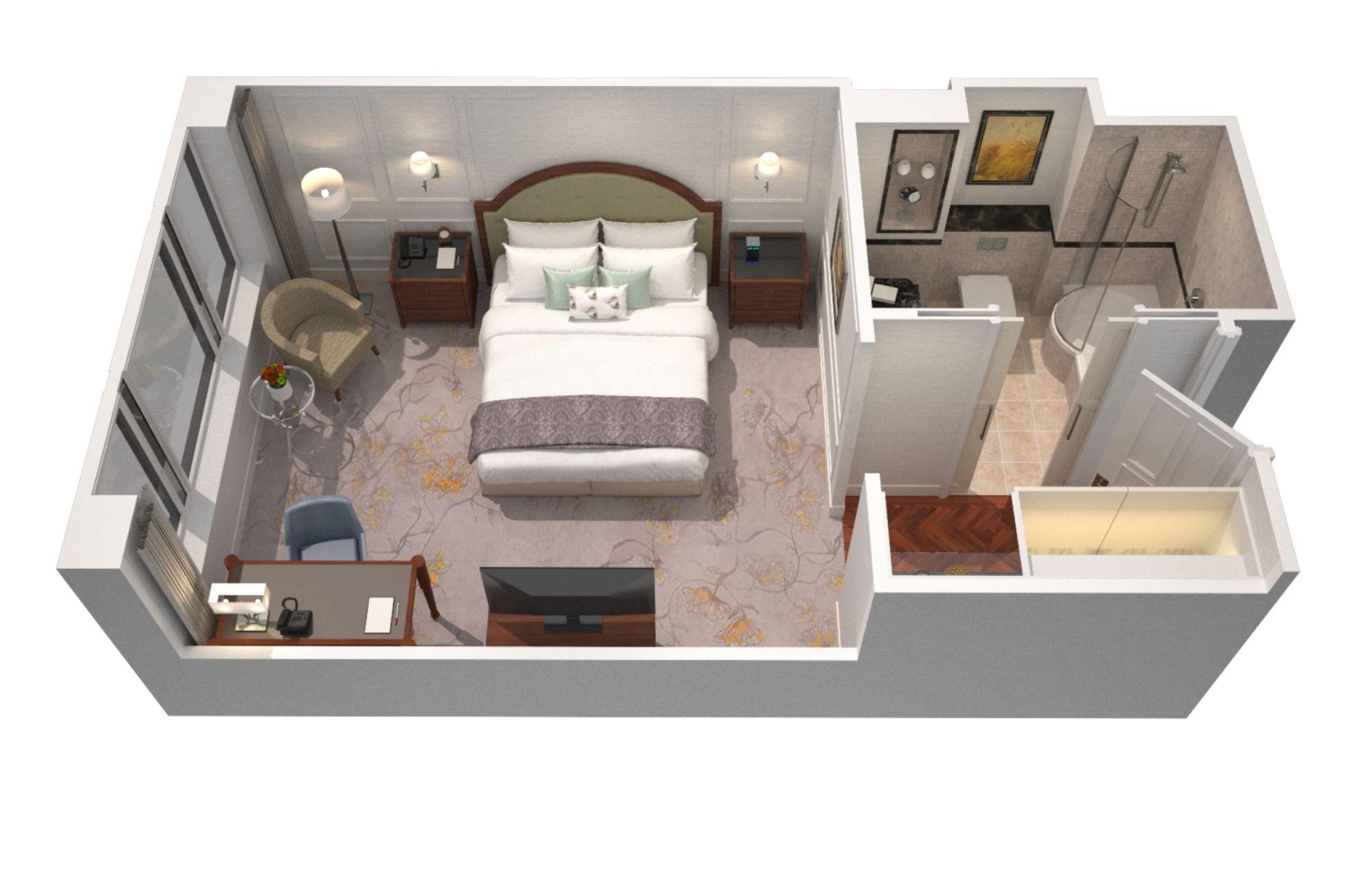 The Langham London Superior Room 28sqm 301sqft Master Bedroom Renovation Master Bedroom Layout Master Bedroom Interior Design