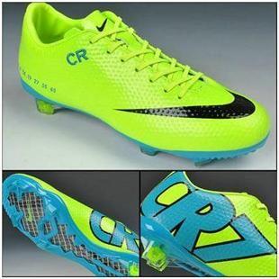 Nike Mercurial Vapor IX CR7 SE FG Limited Edition Boots   Fluorenscent Green Blue Black