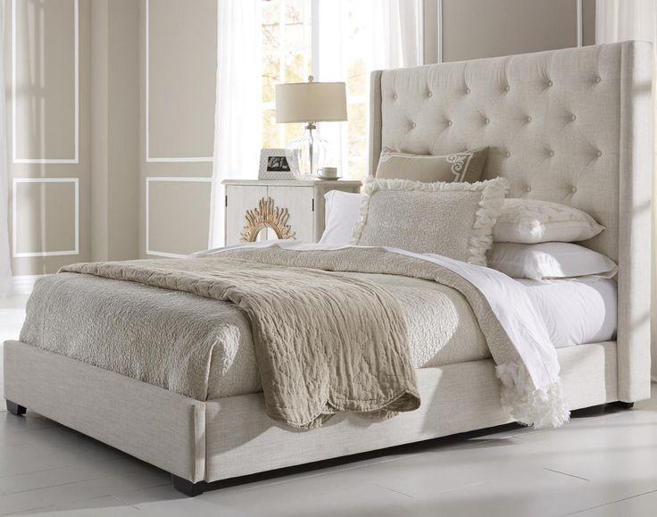 Attraktiv King Size Bett Stoff Kopfteil Schlafzimmer King Bett Stoff Kopfteil U2013 Diese  King Size