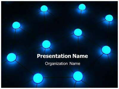 editabletemplates presents #premium #network #technology, Modern powerpoint