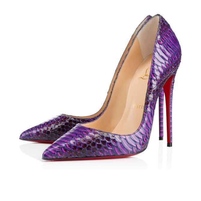 e460e0572482 Christian Louboutin Purple Pumps