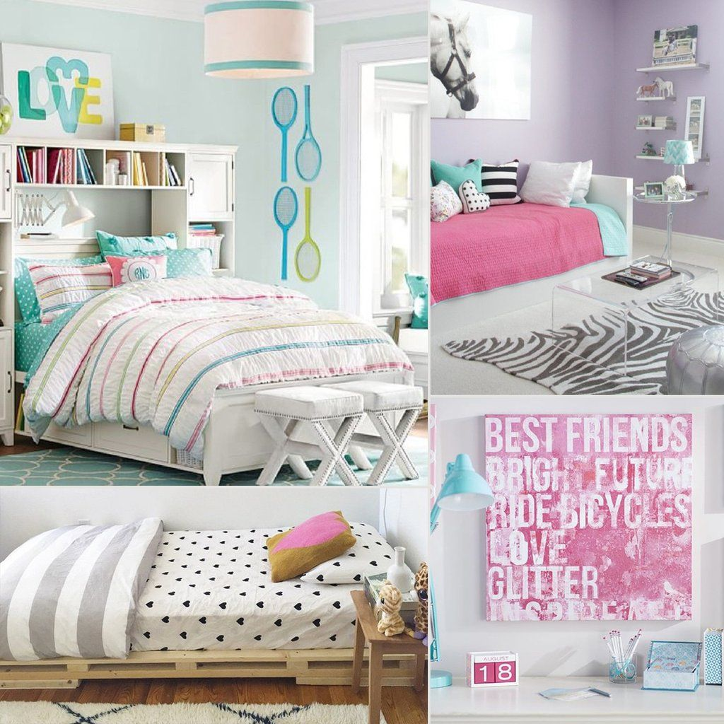 Girls Bedroom Wall Designs - Tween girl bedroom redecorating tips ideas and inspiration