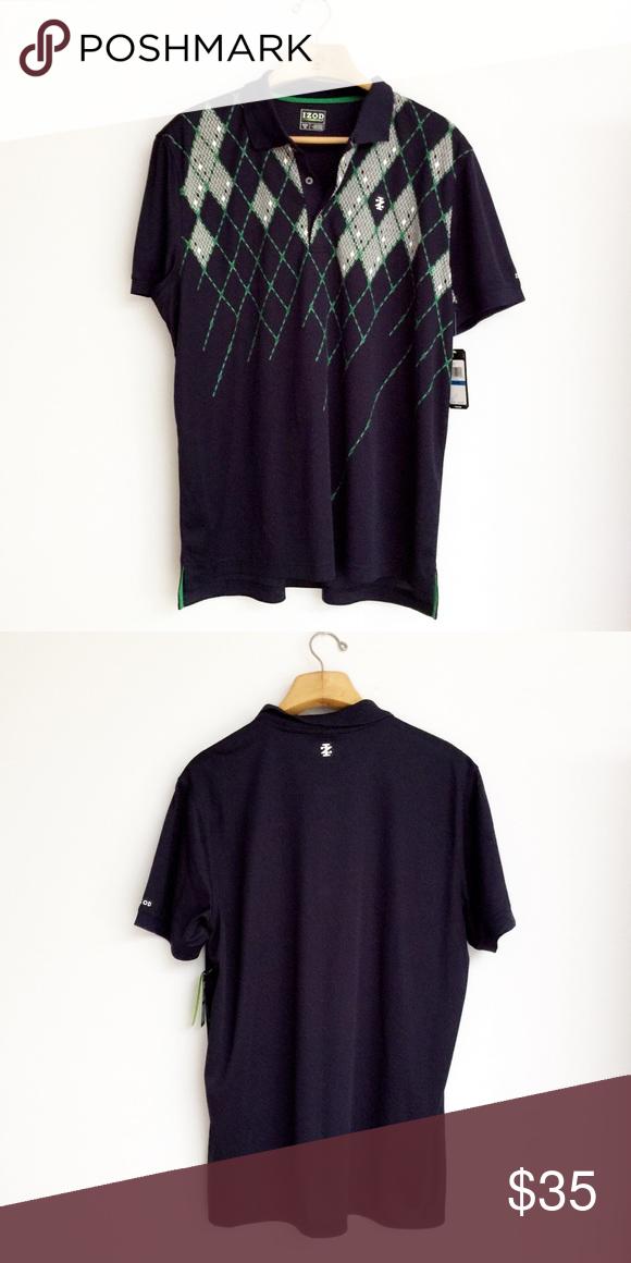 c2dddfee NWT IZOD Golf Shirt Fabric content is 100% polyester. Izod Shirts Polos  #GolfShirts