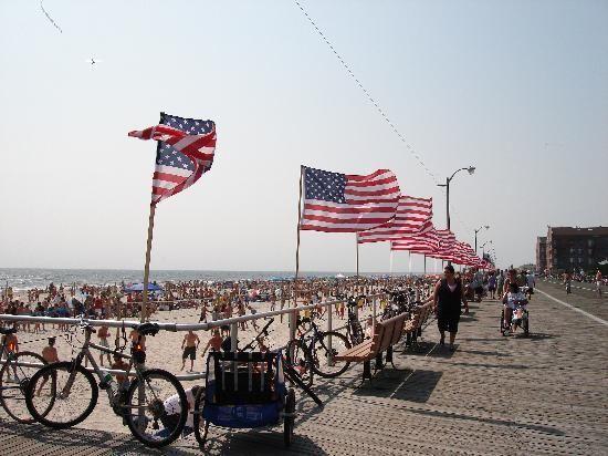 An American Summer On The Boardwalk   Long Beach, NY