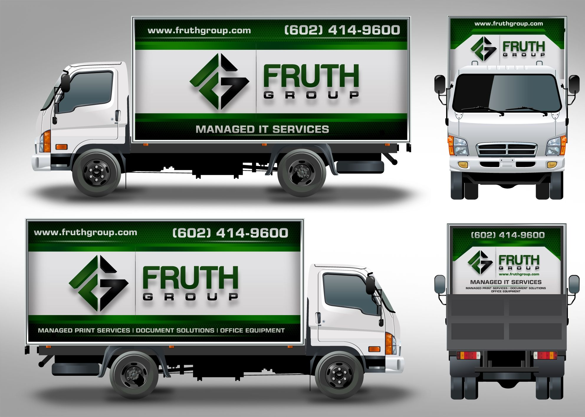 Design 28 by j chaushev high tech company needs high tech wrap for delivery truck