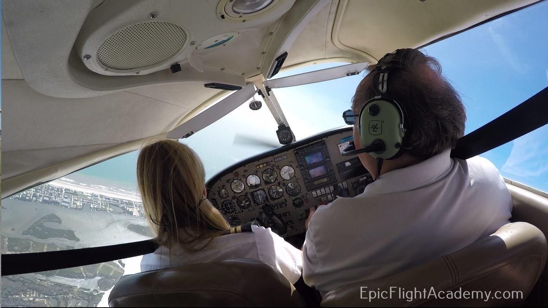 Contact Epic Flight Academy USA, Florida Flight training