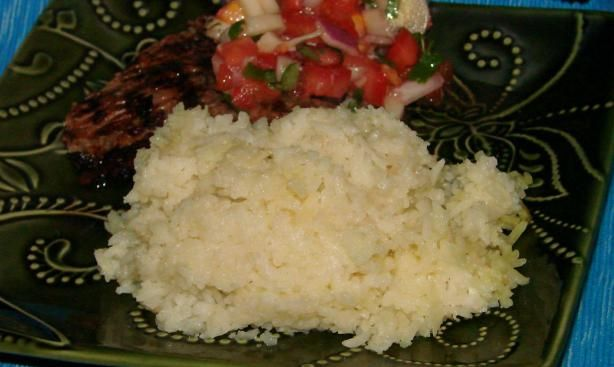 Brazilian White Rice from Food.com:   								White rice is the main side dish made in Brazil. Be sure not to let it overcook because it should come out loose and not sticky.