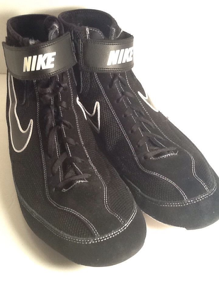 Nike Speedsweep 7 Wrestling Shoes Size 14 Mens Black Excellent Condition |  eBay