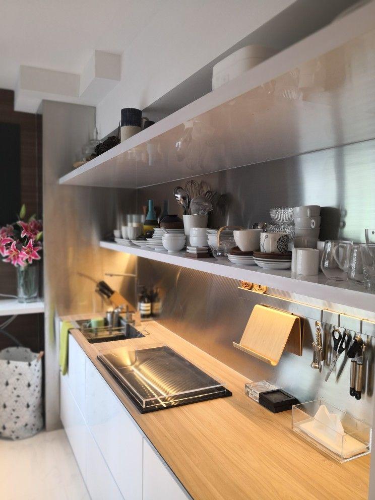 Virtual Kitchen Design Hdb Singapore: Hdb 2 Room BTO At Sengkang Fernvale Riverwalk. Home Of And