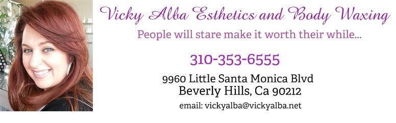 Vicky Alba Esthetics and Body Waxing - People will stare make it worth their while...
