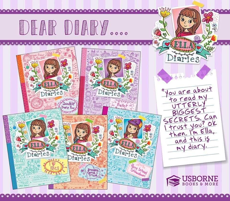 Find Amazing Chapter Books For Your Kids Ella Diaries Is Fun For Girls To Read And Discover That They Aren T Alone Usborne Books Usborne Books Party Usborne