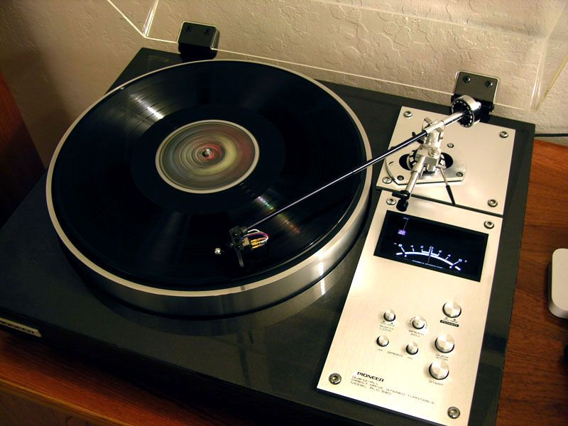 pioneer plc 590 turntable turntables pinterest. Black Bedroom Furniture Sets. Home Design Ideas