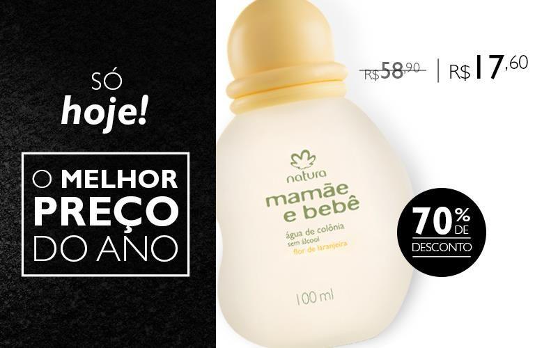 Black Friday Natura Colonia Mamae E Bebe Flor De Laranjeira De R