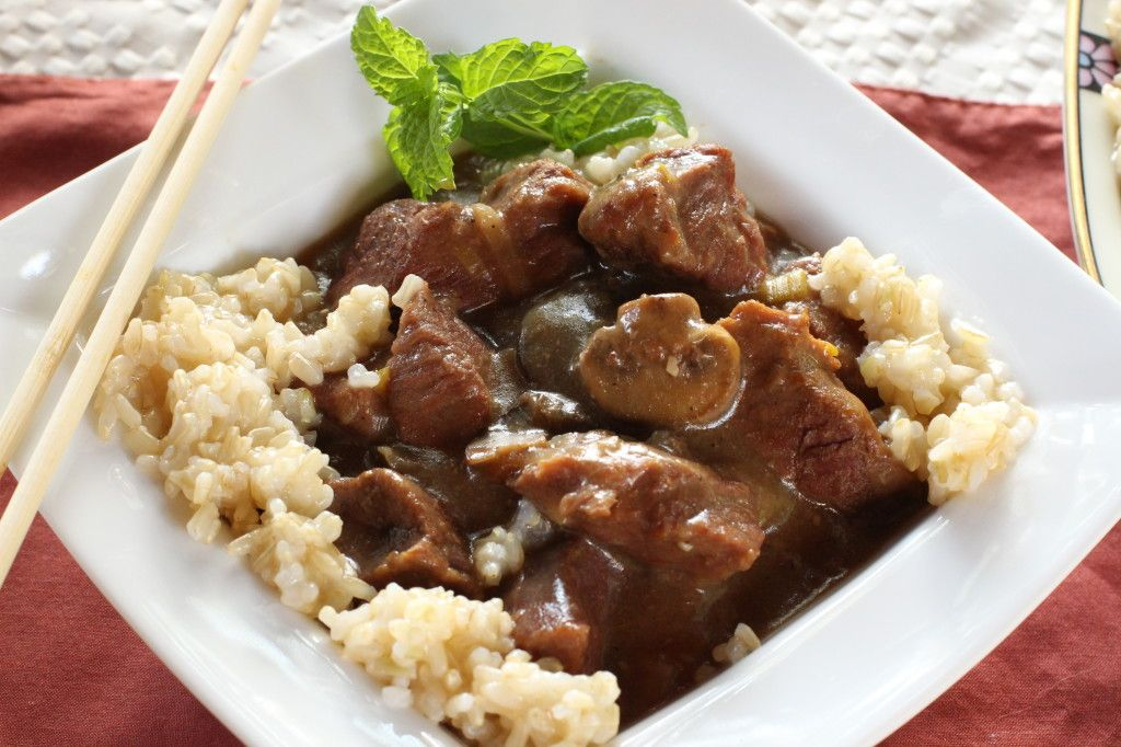 Healthy Beef Tips Over Rice Recipe Recipes Healthy Beef Beef Tip Recipes