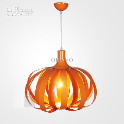 New orangegreen modern pumpkin aluminum ceiling light pendant lamp new orangegreen modern pumpkin aluminum ceiling light pendant lamp lighting fixtures online with 16859 aloadofball Choice Image