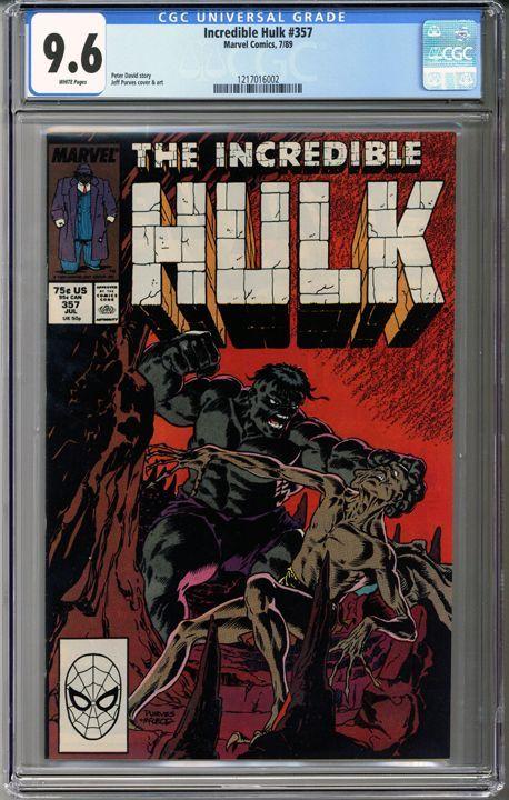 Incredible Hulk #357 CGC 9.6