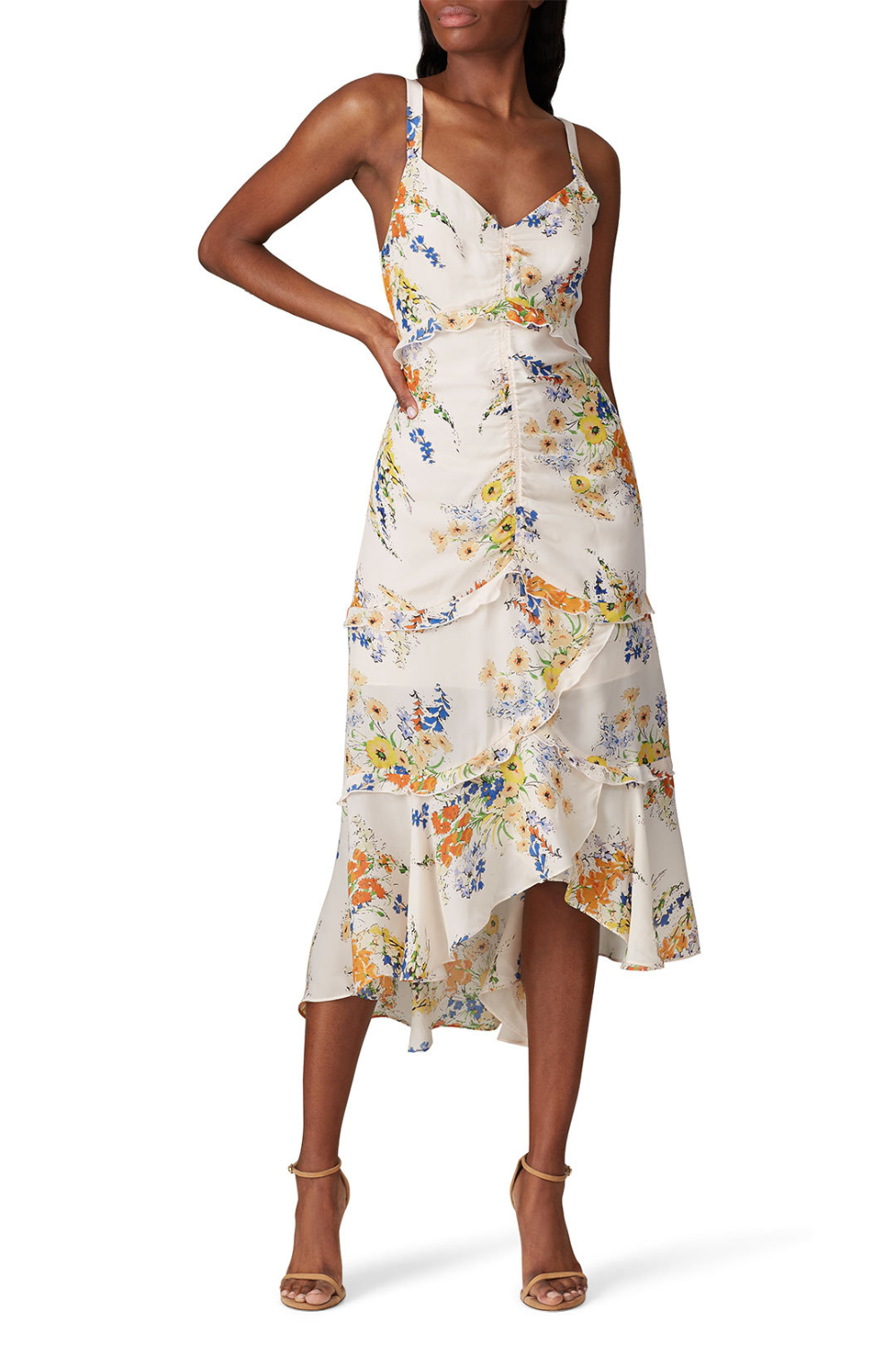 Melody Dress By Parker For 55 70 Rent The Runway Dresses Mixed Floral Dress Parker Dress