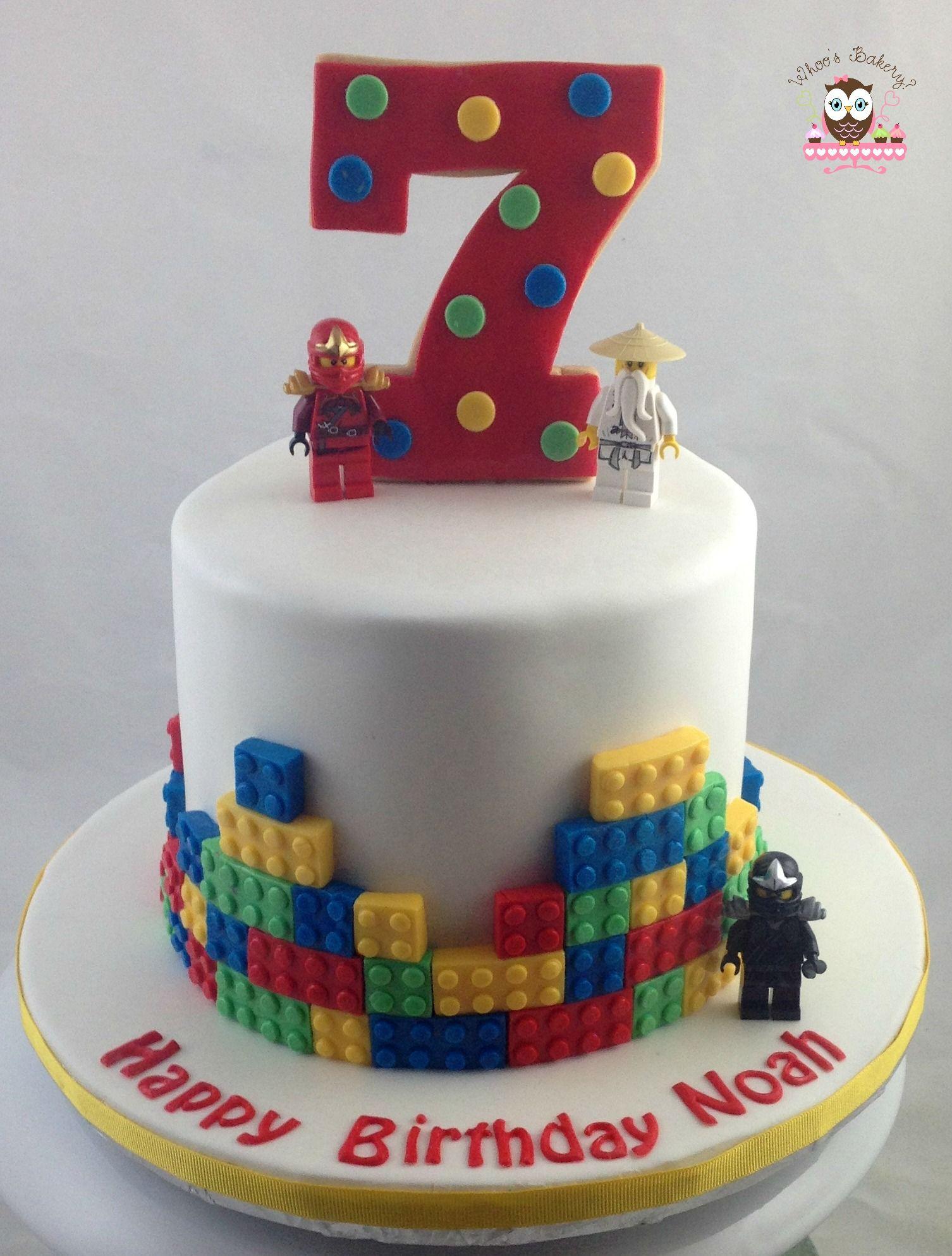 Awesome Lego Cake Lego Ninja Cake Lego Birthday Cake Lego Cake Funny Birthday Cards Online Fluifree Goldxyz