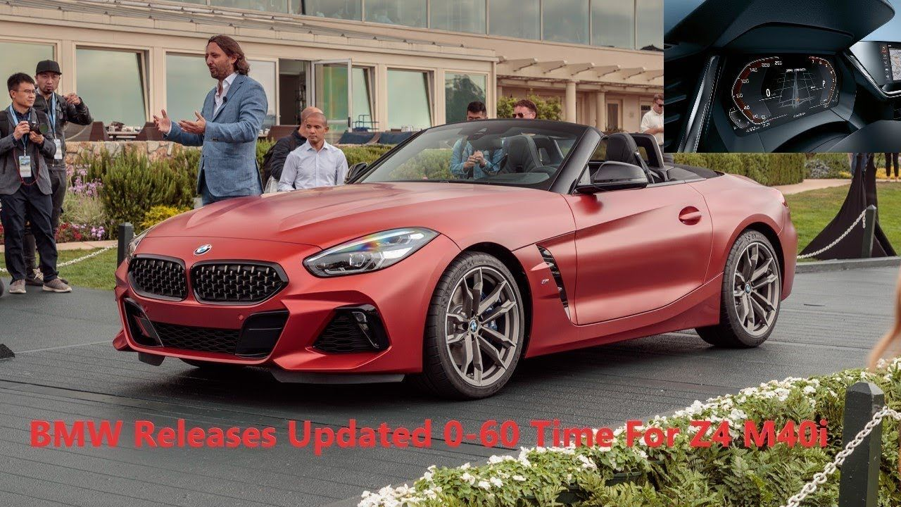 Bmw Releases Updated 0 60 Time For Z4 M40i