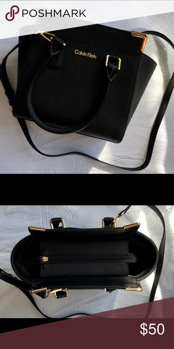 2af1e5dd4f2 Calvin Klein Crossbody Bag - New Black Calvin Klein crossbody bag, never  used Calvin Klein Bags Crossbody Bags