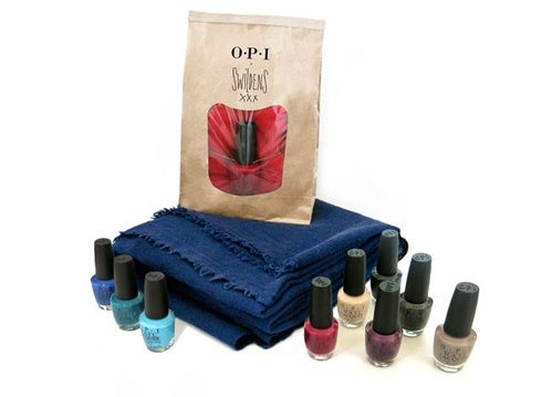 Collection Capsule Swildens x vernis à ongles OPI