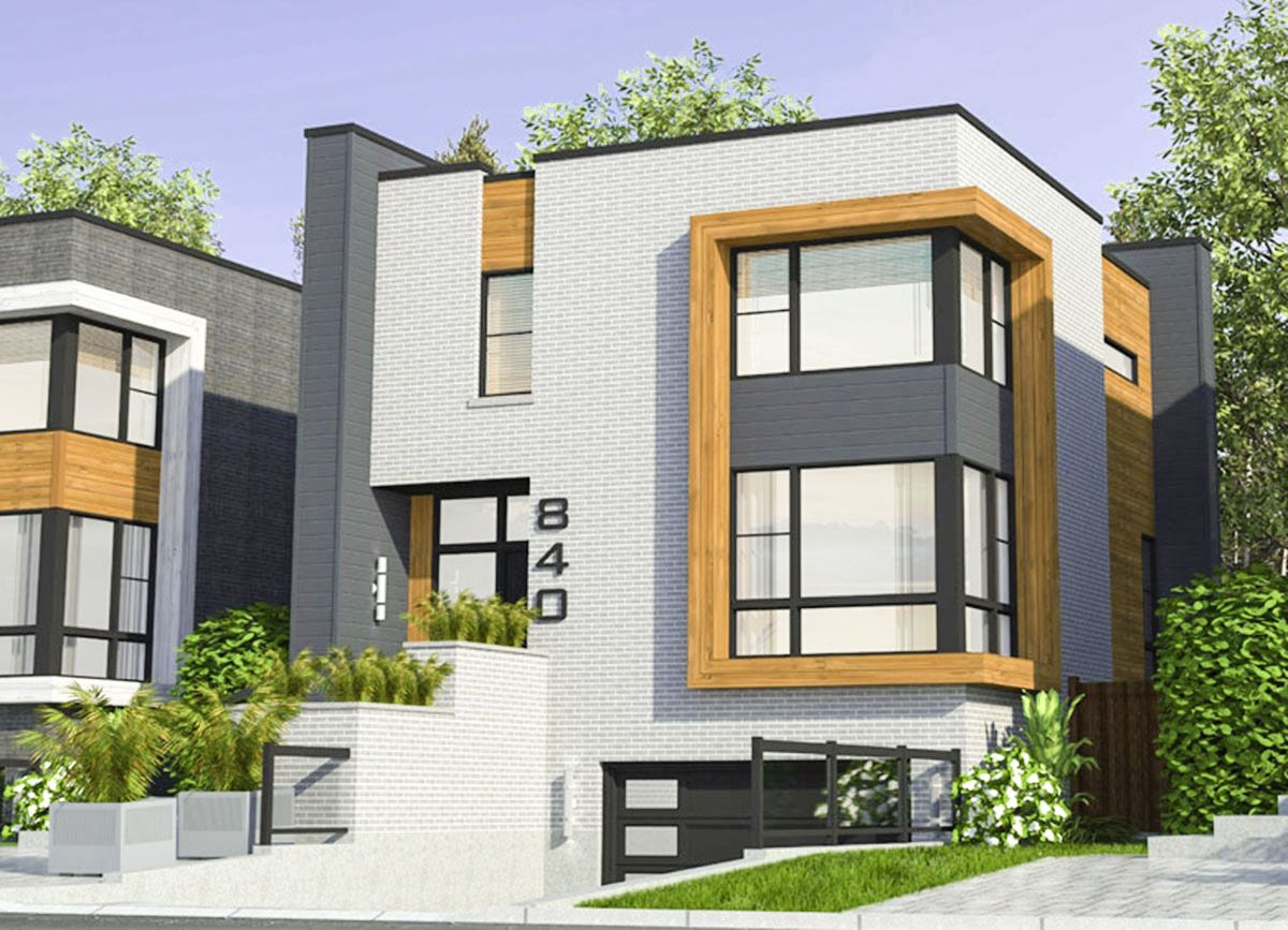 Stylish Contemporary House Plan 90302PD