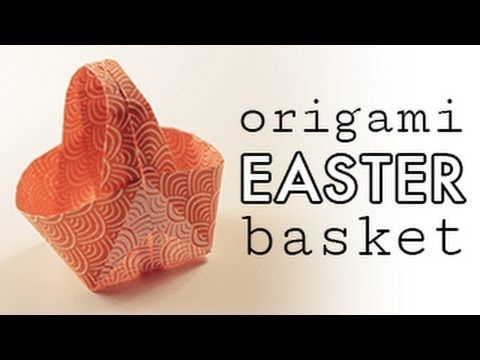 origami easter egg instructions