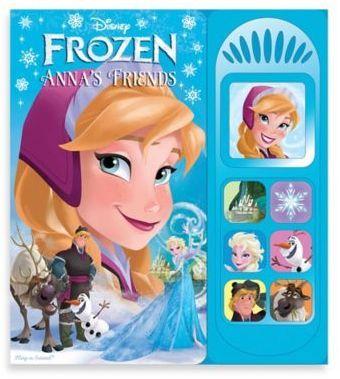 Disney Frozen Anna's Friends Sound Board Book | Products | Frozen