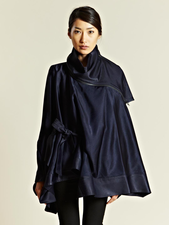 Ann demeulemeester womenus aspect smock jacket lncc style uc