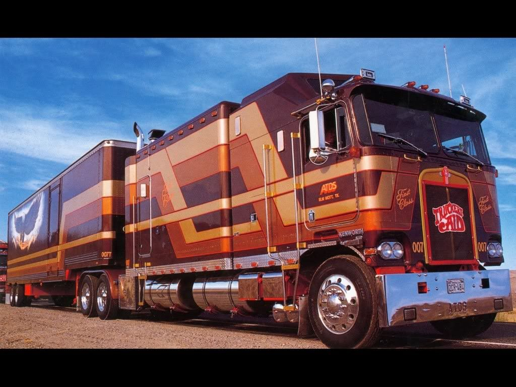 custom bentz truck aerocab for sleeper merged sale trucks watch kenworth big double