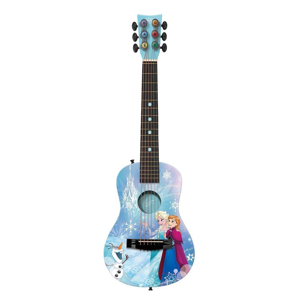 Acoustic Guitar For Beginners Child Music Instrument Girls Gift Disney Frozen Firstact Guitar For Beginners Best Acoustic Guitar Guitar