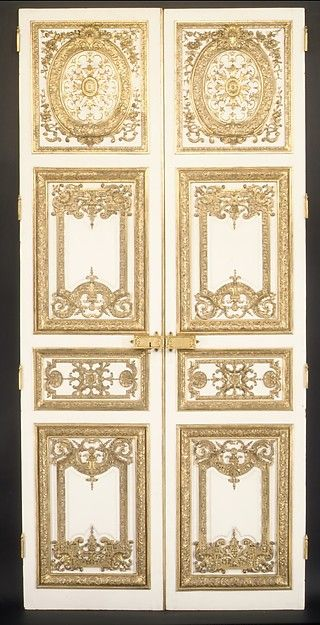 Pair Of Double Doors Doll House Wallpaper Dolls House Interiors Wall Painting Decor