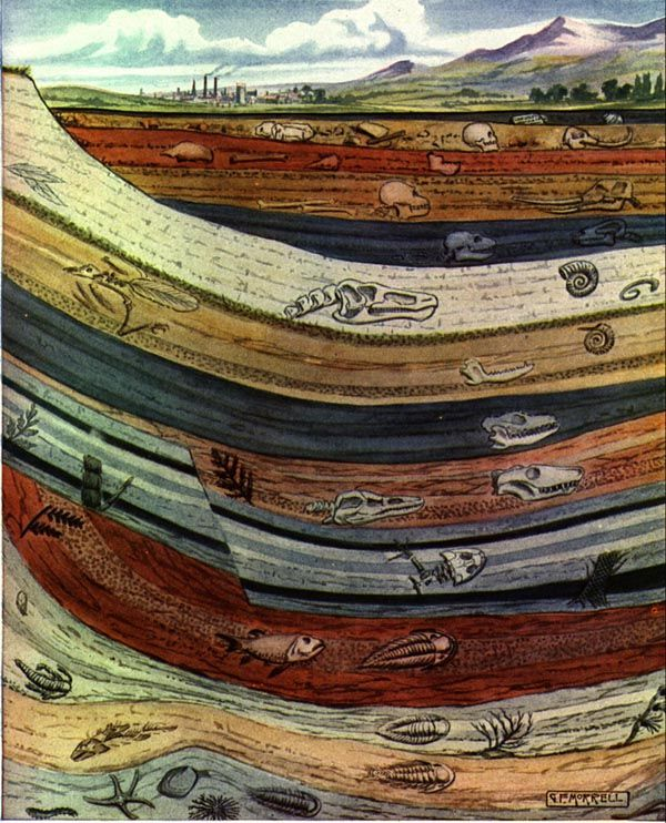 sedimentary rock coloring pages - photo#43