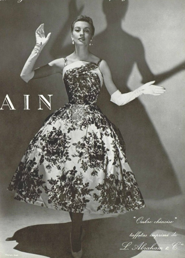 db4f49af 1955 Pierre Balmain | Inspirational Vintage Fashion in 2019 ...