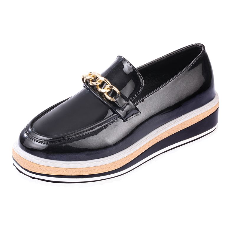 4e47073301 Fashion Women Flats Slip On Vintage Leather Women Loafers Spring ...