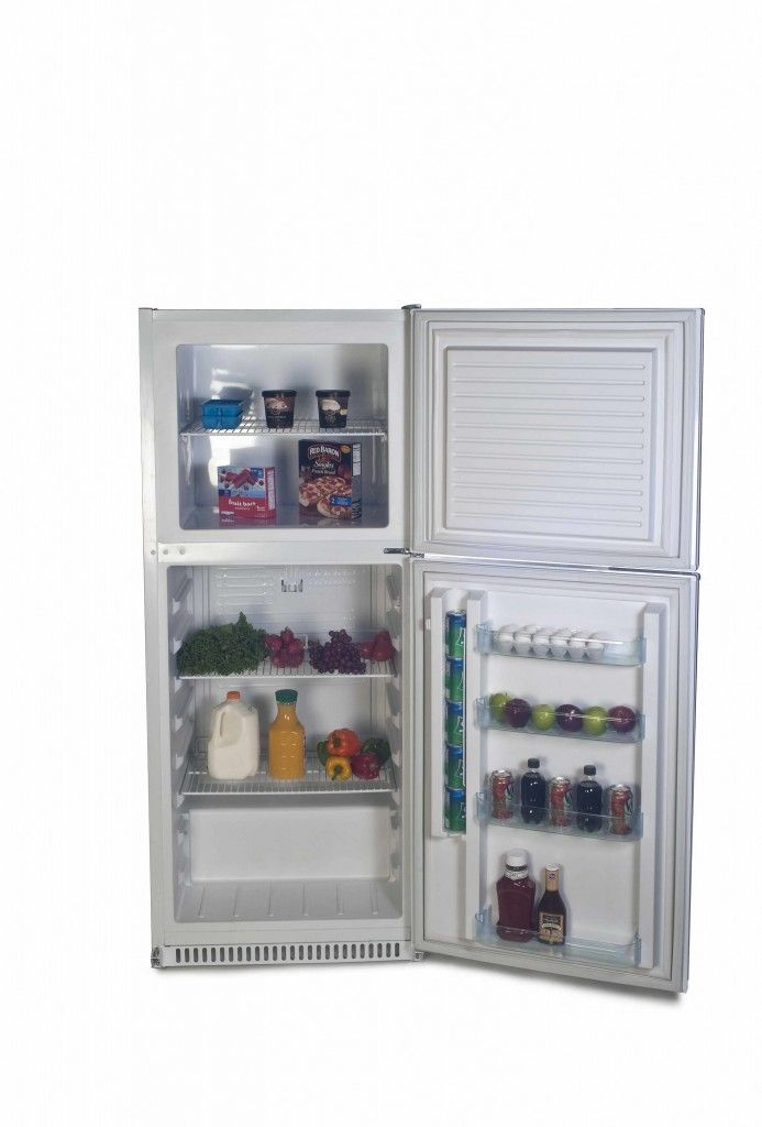 Sundanzer solar powered fridge/freezer combo. Expensive at $1975 ...