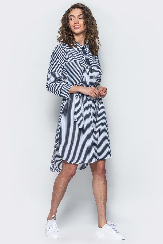 7cfac16926b Стильное платье-рубашка 4400208