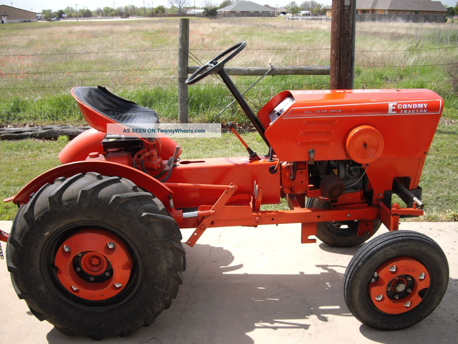 Power King Tractor 1976 Power King Tractor 14hp Kohler Engine