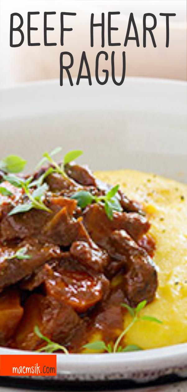 Beef Heart Ragu Recipe Ragu Recipe Beef Heart Recipe Recipes