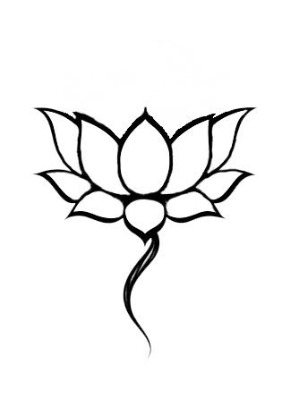 Tattoo Design Lotus Grow Up From The Bottom Of A Pond Hence The