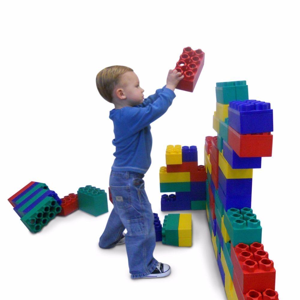Kid Building Blocks Toy Large Jumbo Legos 96 PC Pre School ...