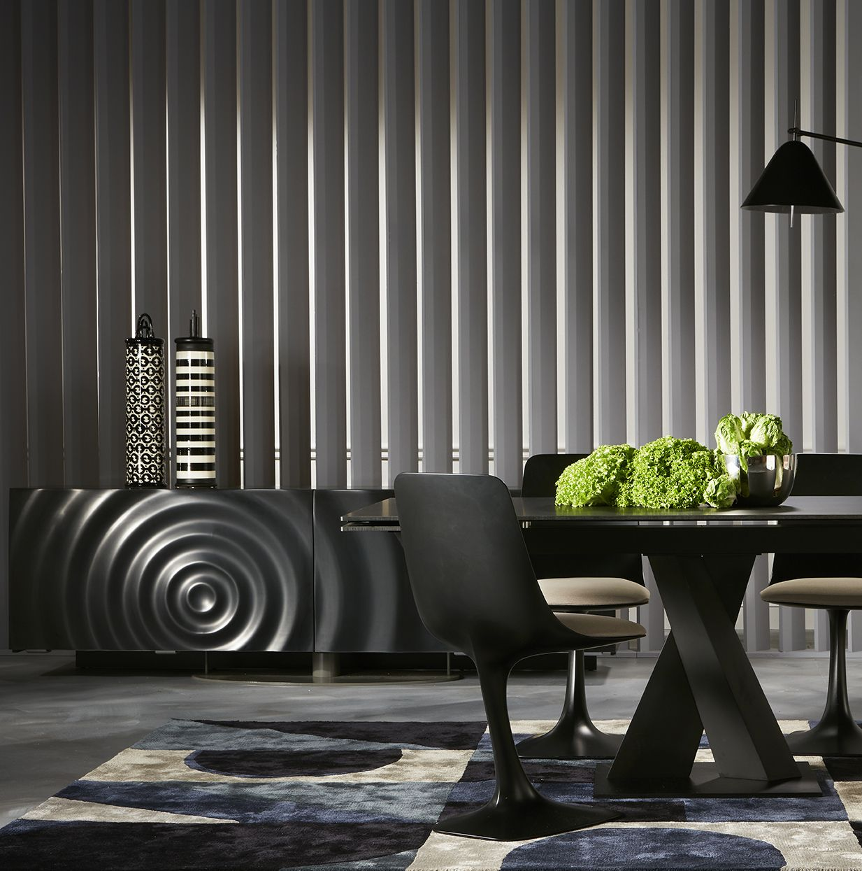 Roche Bobois Axel Dining Table And Speed Up Sideboard
