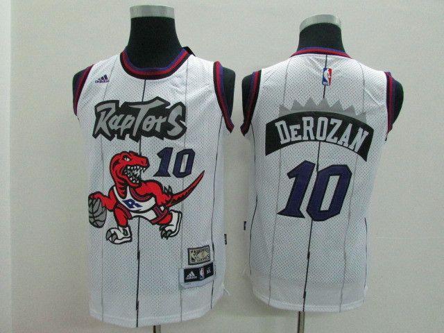 0a30fde62 Toronto Raptors 10 Derozan Kids raptors throwback www.amynfljerseys ...