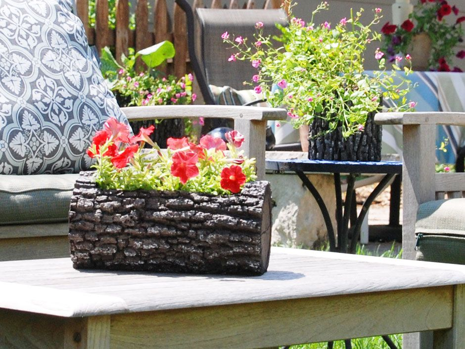 A few of our planters from nature innovations http