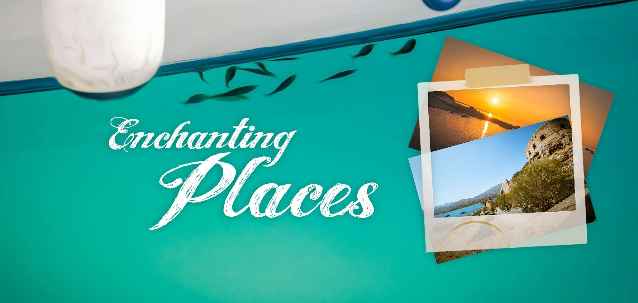 Enchanting Places  Project Banner