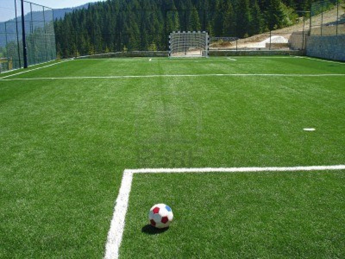 I Will Have A Soccer Field On My Backyard