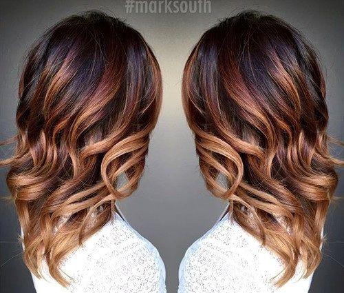 20 Cute Fall Hair Colors And Highlights Ideas Caramel OmbreCaramel