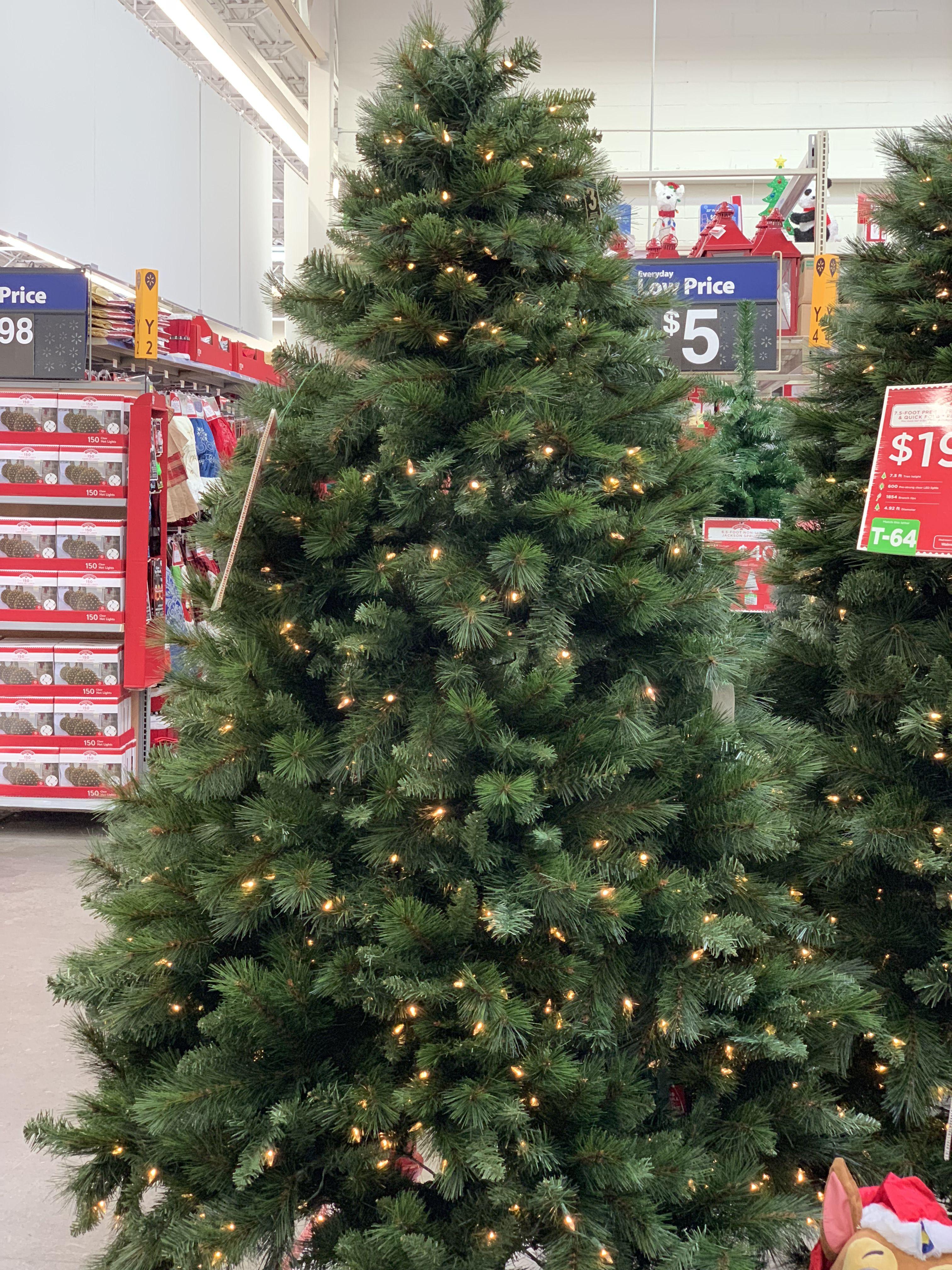 Http Www Walmart Com Ip Holiday Time 7 5ft Pre Lit Prescott Pine